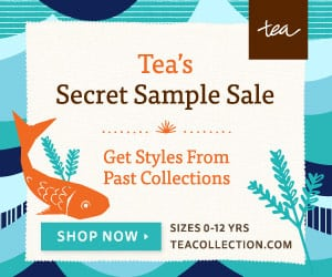 Tea Collection Secret Sample Sale