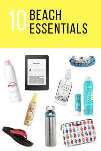10 Beach Essentials for Moms