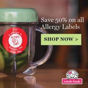 Allergy Alert Labels