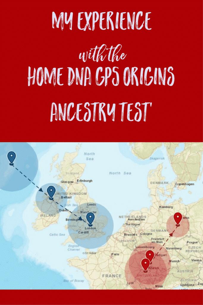 Home DNA GPS Origins Ancestry Test